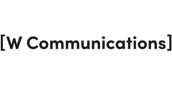 W communications logo